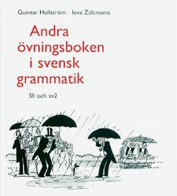 Andra övningsboken in svensk grammatik