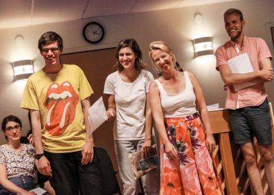 Att få återkoppling från sin lärare kan också vara kul - Svensk popmusik och musikalteater klassen