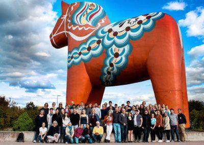 Fredagsutflykt till Falun och Dalarna kräver ett stopp vid Dalahästen